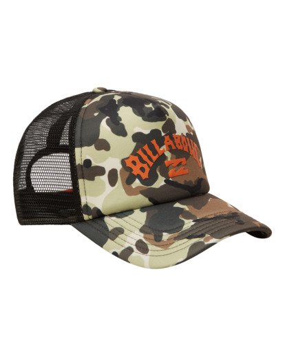 2 Podium Trucker Hat Green ABYHA00113 Billabong