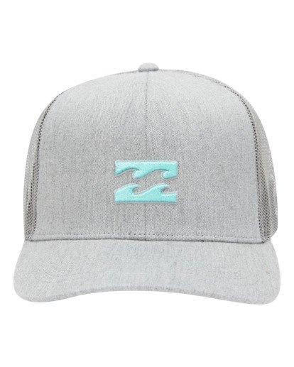 1 All Day Trucker Hat Grey ABYHA00115 Billabong