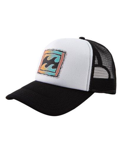 0 Crayon Wave Trucker Cap Black ABYHA00118 Billabong