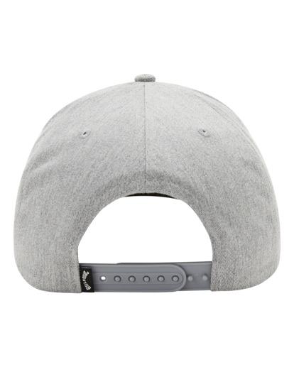 3 All Day Snapback Hat Grey ABYHA00119 Billabong