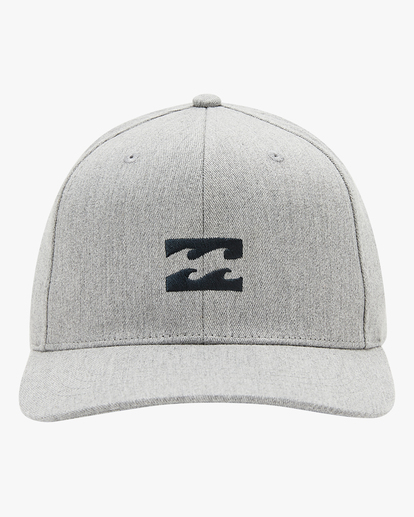 1 All Day Snapback Hat Grey ABYHA00119 Billabong