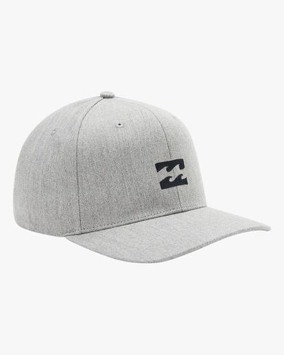 2 All Day Snapback Hat Grey ABYHA00119 Billabong