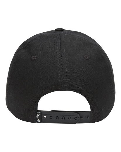 2 Walled Snapback Hat Black ABYHA00120 Billabong