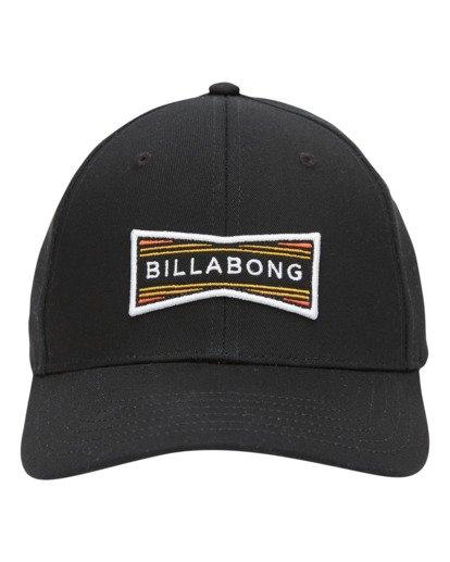 1 Walled Snapback Hat Black ABYHA00120 Billabong