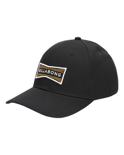 0 Walled Snapback Hat Black ABYHA00120 Billabong