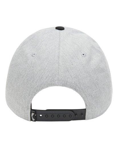 2 Walled Snapback Hat Grey ABYHA00120 Billabong