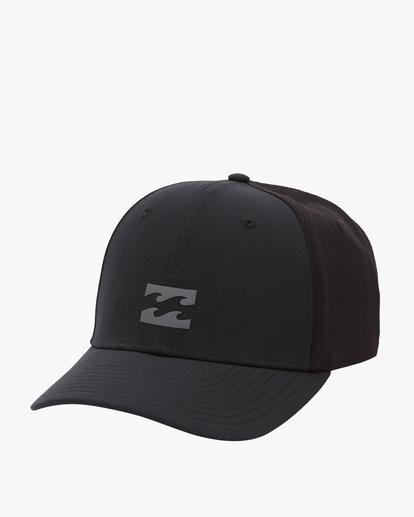 0 Performance Stretch Hat Black ABYHA00128 Billabong