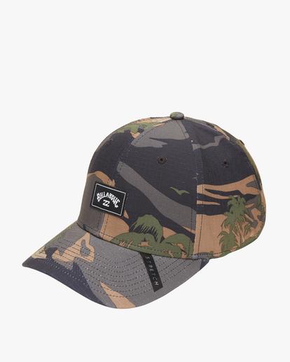 0 A/Div Surftrek Stretch Hat Black ABYHA00129 Billabong
