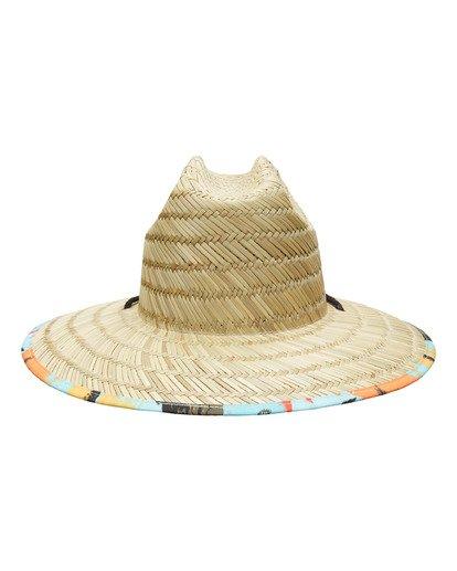 2 Tides Print Hat Blue ABYHA00130 Billabong