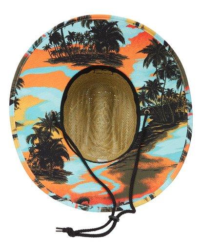 3 Tides Print Hat Blue ABYHA00130 Billabong