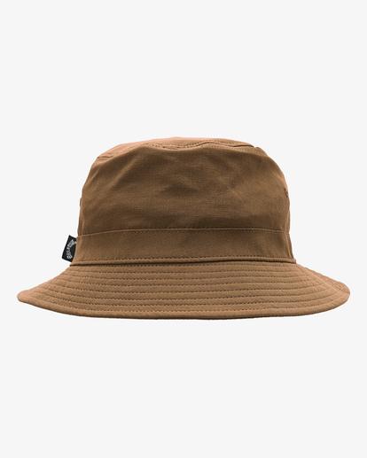 3 A/Div Packable Bucket Hat Brown ABYHA00133 Billabong