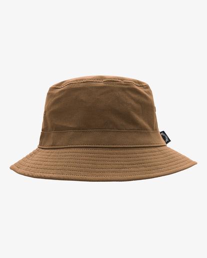 1 A/Div Packable Bucket Hat Brown ABYHA00133 Billabong
