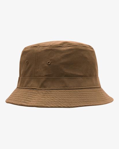 2 A/Div Packable Bucket Hat Brown ABYHA00133 Billabong