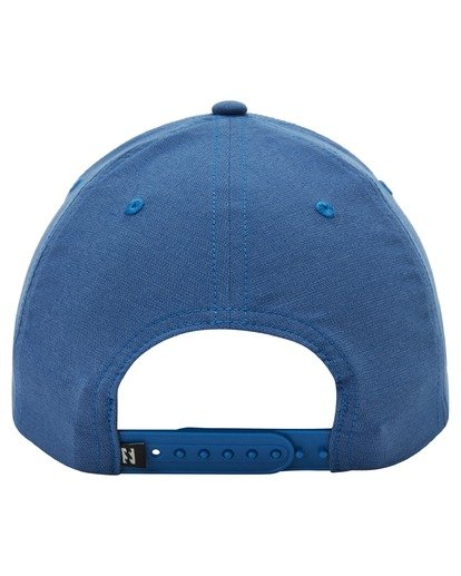 3 A/Div Surftrek Snapback Hat Blue ABYHA00136 Billabong