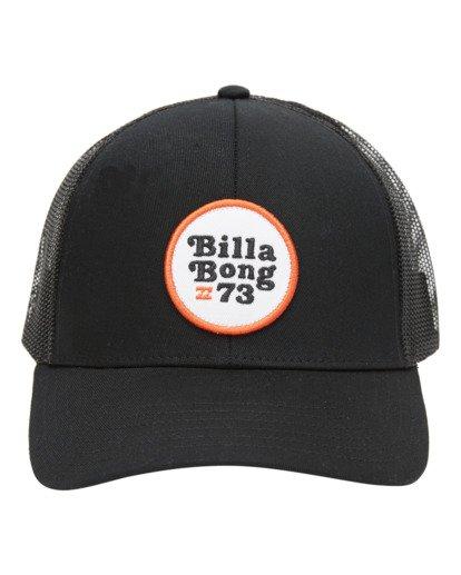 1 Walled Trucker Hat Black ABYHA00141 Billabong