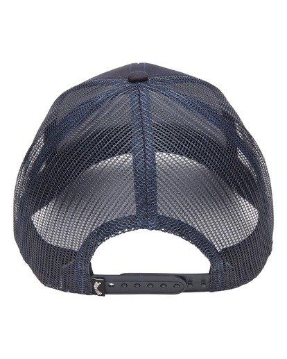 2 Walled Trucker Hat Blue ABYHA00141 Billabong