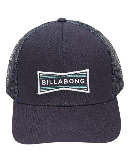 1 Walled Trucker Hat Blue ABYHA00141 Billabong