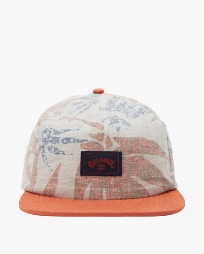 1 A/Div Hemp Strapback Hat Red ABYHA00144 Billabong