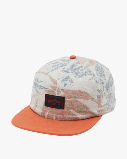 0 A/Div Hemp Strapback Hat Red ABYHA00144 Billabong