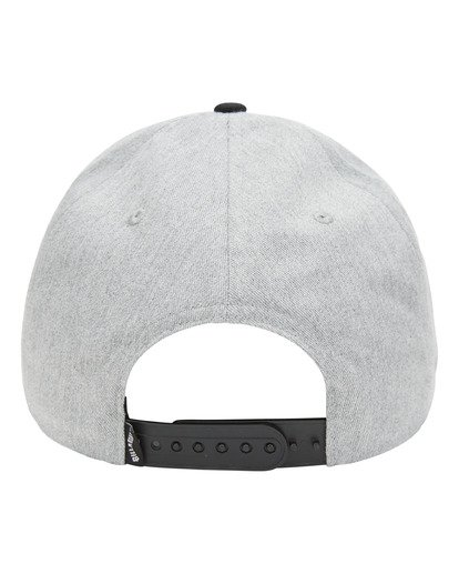 2 Stacked Snapback Hat Grey ABYHA00152 Billabong