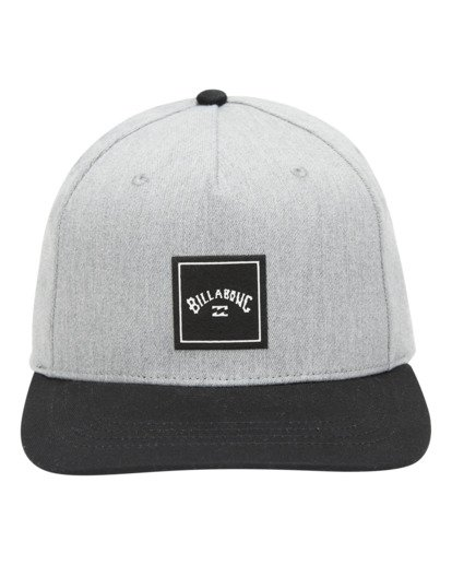 1 Stacked Snapback Hat Grey ABYHA00152 Billabong