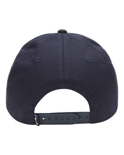 2 Stacked Snapback Hat Blue ABYHA00152 Billabong