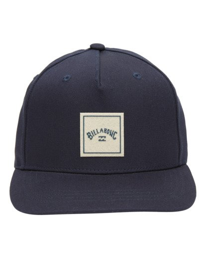 1 Stacked Snapback Hat Blue ABYHA00152 Billabong