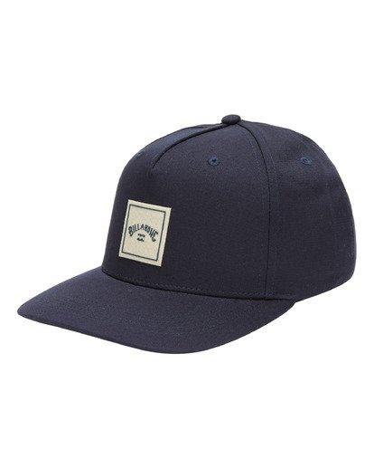 0 Stacked Snapback Hat Blue ABYHA00152 Billabong
