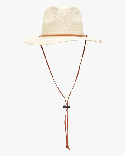 1 The Crusher Straw Hat White ABYHA00154 Billabong