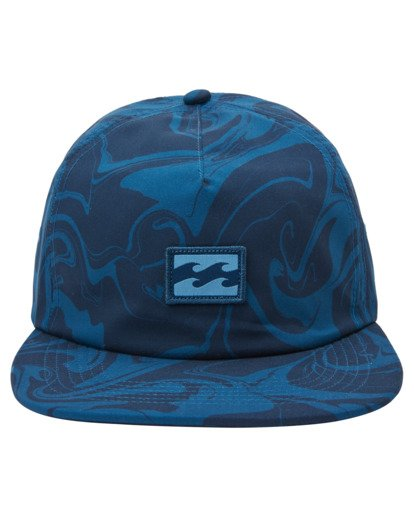1 Platform Print Strapback Hat Blue ABYHA00198 Billabong