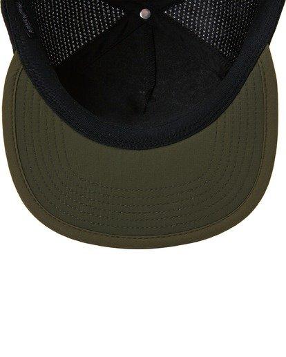4 A/Div Backside Trucker Hat Brown ABYHA00213 Billabong