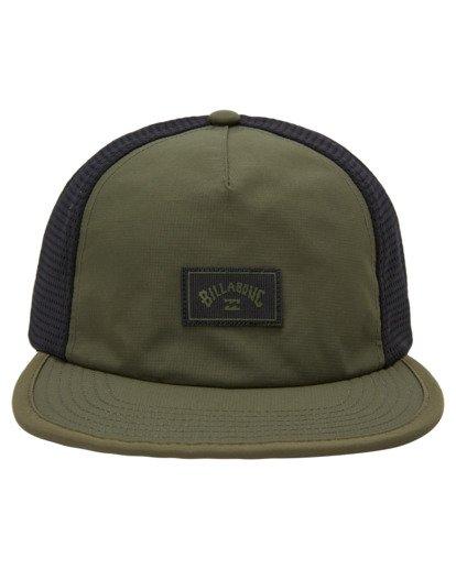 1 A/Div Backside Trucker Hat Brown ABYHA00213 Billabong
