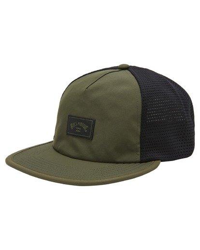 0 A/Div Backside Trucker Hat Brown ABYHA00213 Billabong