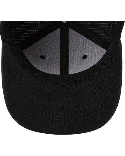 3 A/Div Surftrek Stretch Hat Black ABYHA00214 Billabong