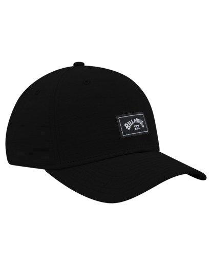 1 A/Div Surftrek Stretch Hat Black ABYHA00214 Billabong
