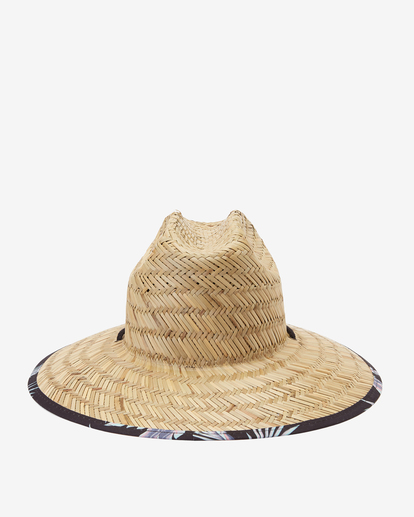 1 Tides Print Straw Lifeguard Hat Black ABYHA00216 Billabong