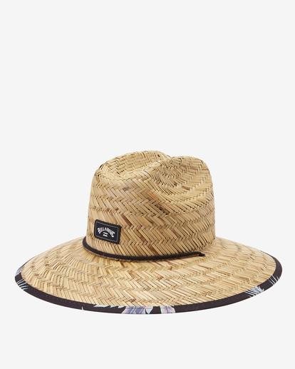 0 Tides Print Straw Lifeguard Hat Black ABYHA00216 Billabong