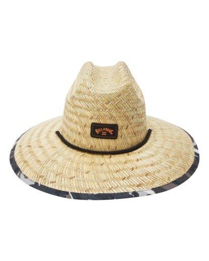 1 Tides Print Straw Lifeguard Hat Green ABYHA00216 Billabong
