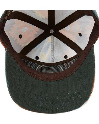 4 Wrangler Westward Strapback Hat White ABYHA00227 Billabong