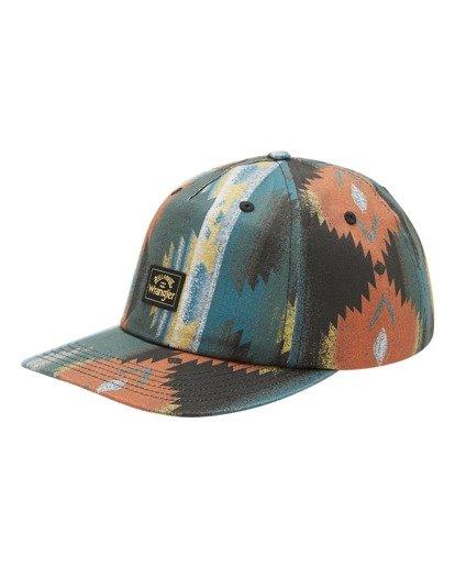 0 Wrangler Westward Strapback Hat White ABYHA00227 Billabong