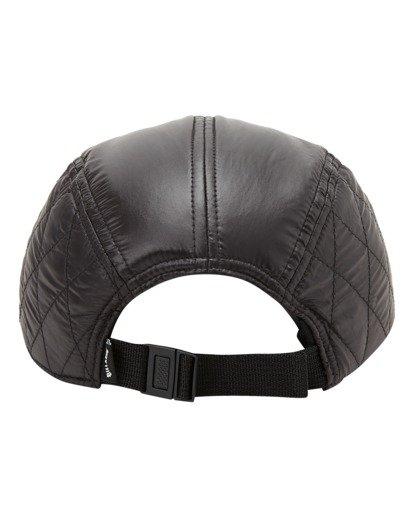 3 A/Div Journey Puffer Strapback Hat Black ABYHA00229 Billabong