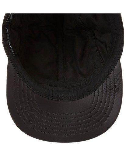 4 A/Div Journey Puffer Strapback Hat Black ABYHA00229 Billabong
