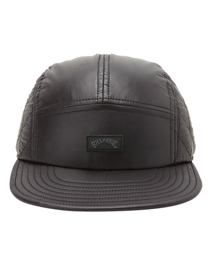 1 A/Div Journey Puffer Strapback Hat Black ABYHA00229 Billabong