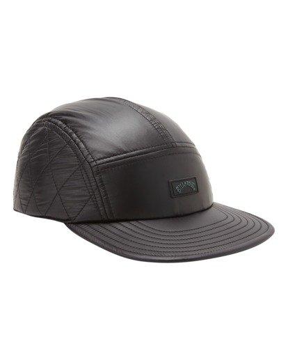 2 A/Div Journey Puffer Strapback Hat Black ABYHA00229 Billabong