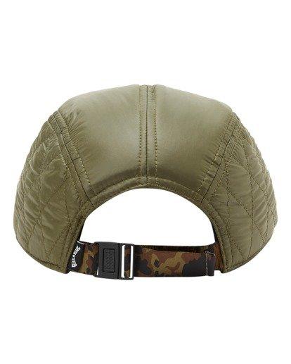3 A/Div Journey Puffer Strapback Hat Brown ABYHA00229 Billabong