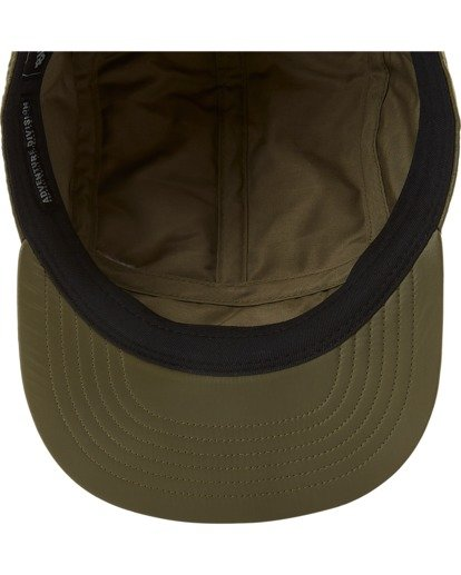 4 A/Div Journey Puffer Strapback Hat Brown ABYHA00229 Billabong