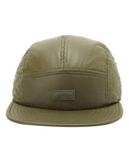 1 A/Div Journey Puffer Strapback Hat Brown ABYHA00229 Billabong