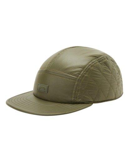0 A/Div Journey Puffer Strapback Hat Brown ABYHA00229 Billabong