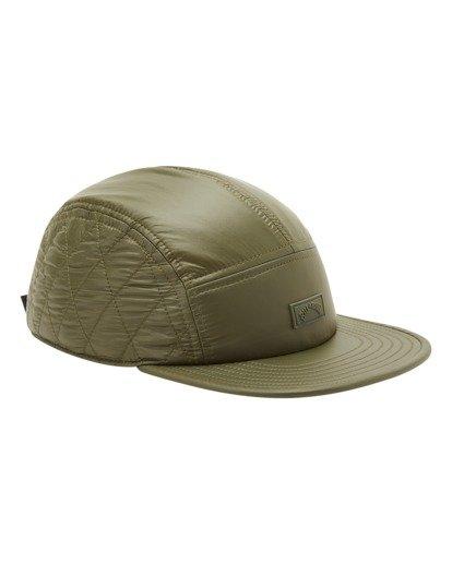 2 A/Div Journey Puffer Strapback Hat Brown ABYHA00229 Billabong