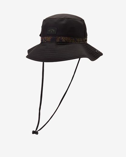 0 A/Div Pocket Big John Surf Safari Hat Black ABYHA00230 Billabong